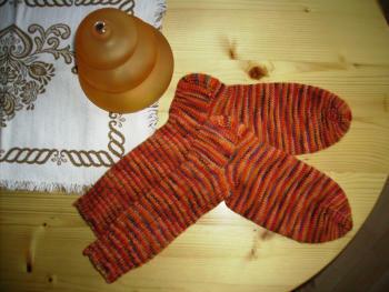 selbstgefärbte Wolle von Schlawin