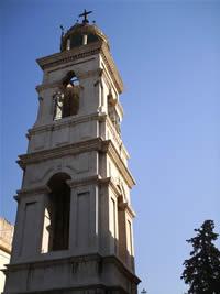 Kirchturm in Damaskus