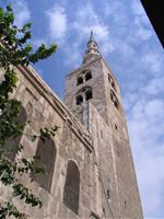 Minarett in Damaskus ehemaliger Kirchturm